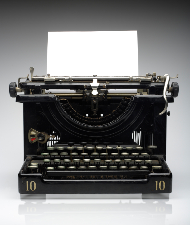 typewriter for paralegals back in time