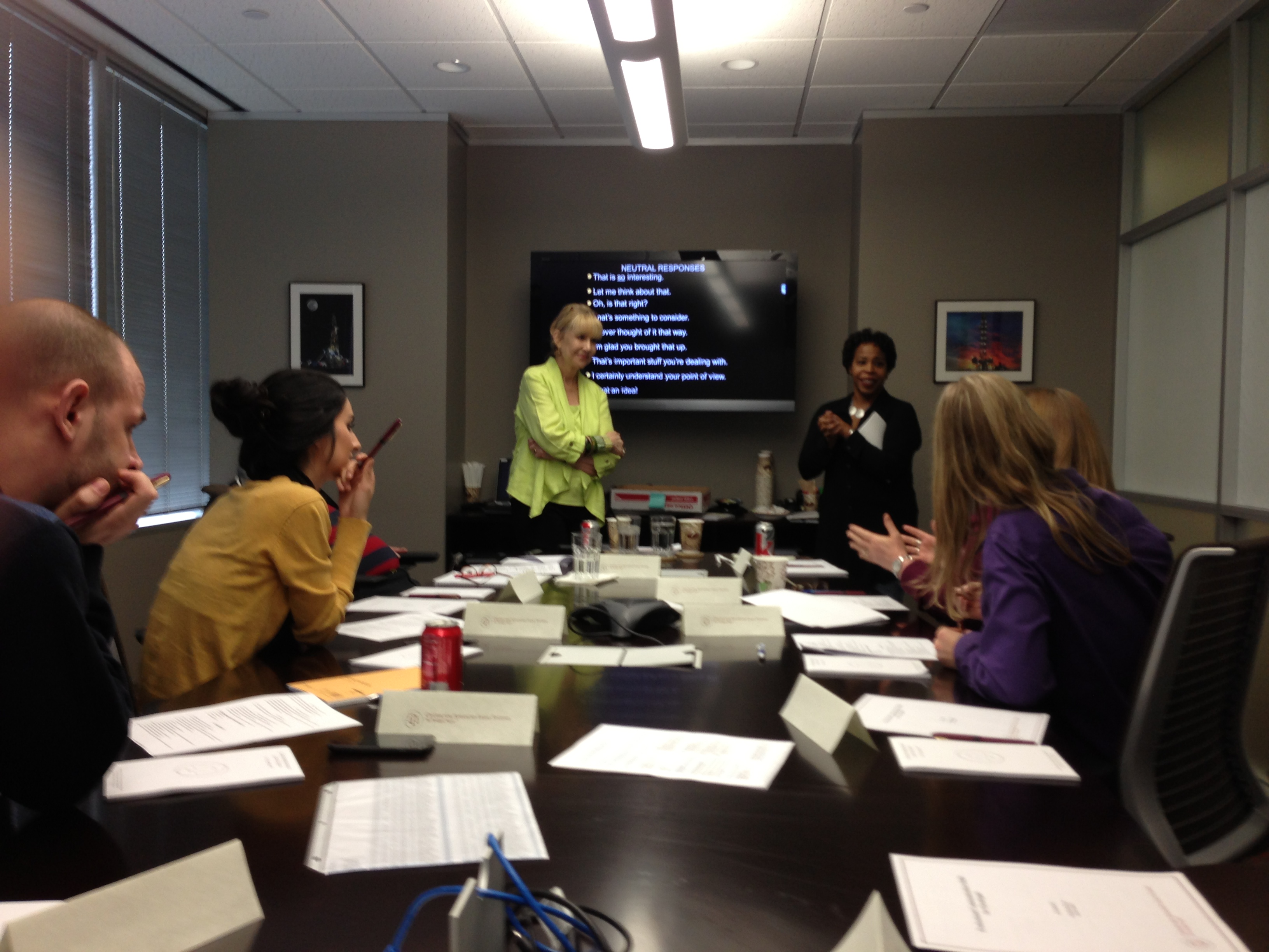 Communications Workshop at Law Firm