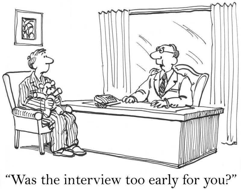 AdobeStock_46796060-Cartoon-Interview-too-early
